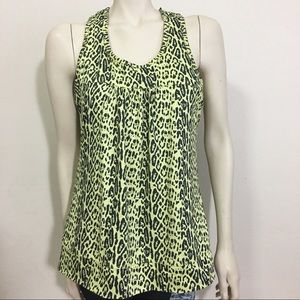 90 Degree by Reflex Black and Yellow Leopard top